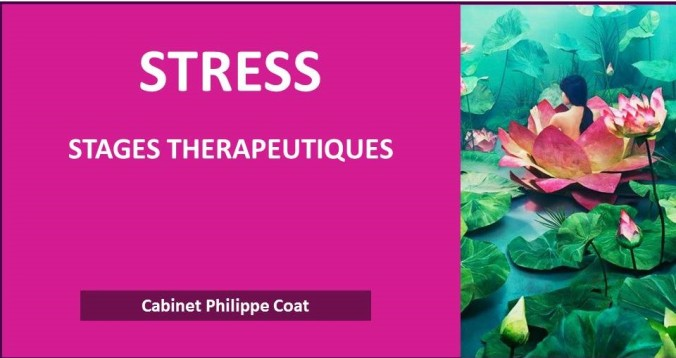 Stress, burn-out, anxiété chronique, risques psychosociaux, stages thérapeutiques en Alsace, cabinet Philippe Coat